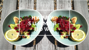 Happy-Summer-Bowl mit Feigen & Granatapfel