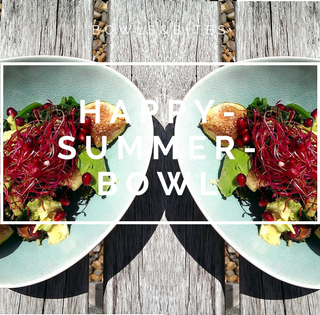 Happy-Summer-Bowl mit Feigen & Granatapfel