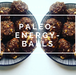 Paleo-Energy-Balls mit Raw Kakao
