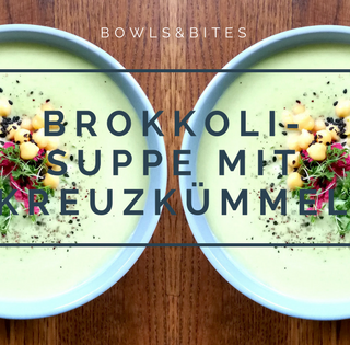 Stärkende Brokkoli-Suppe mit Kreuzkümmel