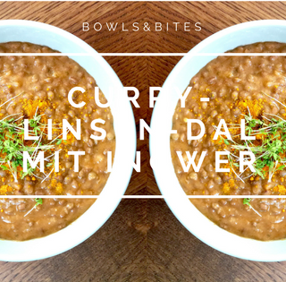CURRY-LINSEN-DAL MIT INGWER