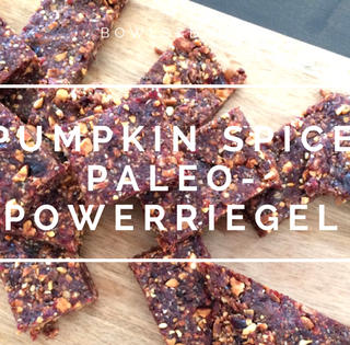 PUMPKIN SPICE PALEO-POWERRIEGEL