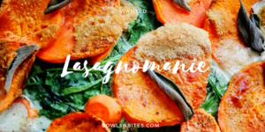 Vegane Süßkartoffel-Lasagne mit Spinat & Salbei #paleo #glutenfrei #laktosefrei #vegan by bowlsnbites.com