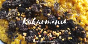 Kurkuma Porridge mit Aktivkohle