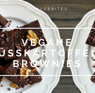Vegane Süßkartoffel-Brownies mit Kakao-Nibs