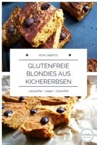 Glutenfreie Blondies aus Kichererbsen und Nussbutter, 9 Zutaten, vegan, laktosefrei by bowlsnbites.com