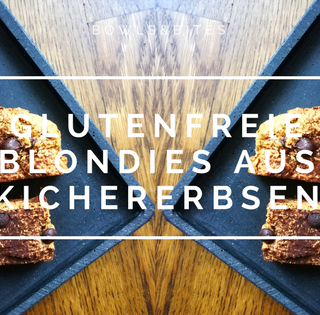 GLUTENFREIE BLONDIES AUS KICHERERBSEN
