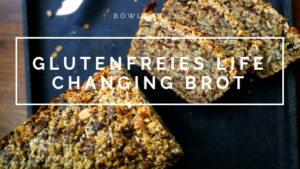 Glutenfreies Brot backen - life changing bread aus Nüssen und Samen, ohne Weizen. Vegan, Laktosefrei. Eifrei. Selbst gemacht by bowlsnbites.com